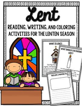 Reflect during the Lenten season with this NO PREP packet! Your students can read about the Lenten season, write about their sacrifices and good works (or draw pictures for the younger students.) I also included coloring activities. This is the perfect booklet to introduce on Ash Wednesday.  Reading includes: What is Lent? When is Lent? What should I do during Lent?