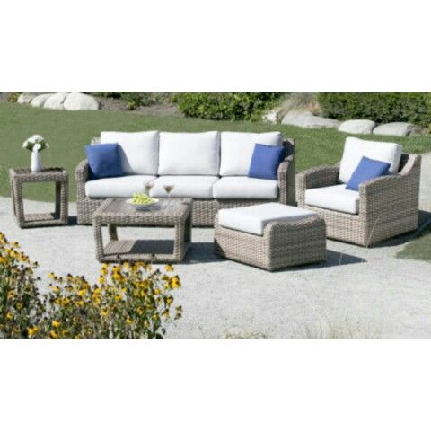 Loungeset 6d Wicker 2016