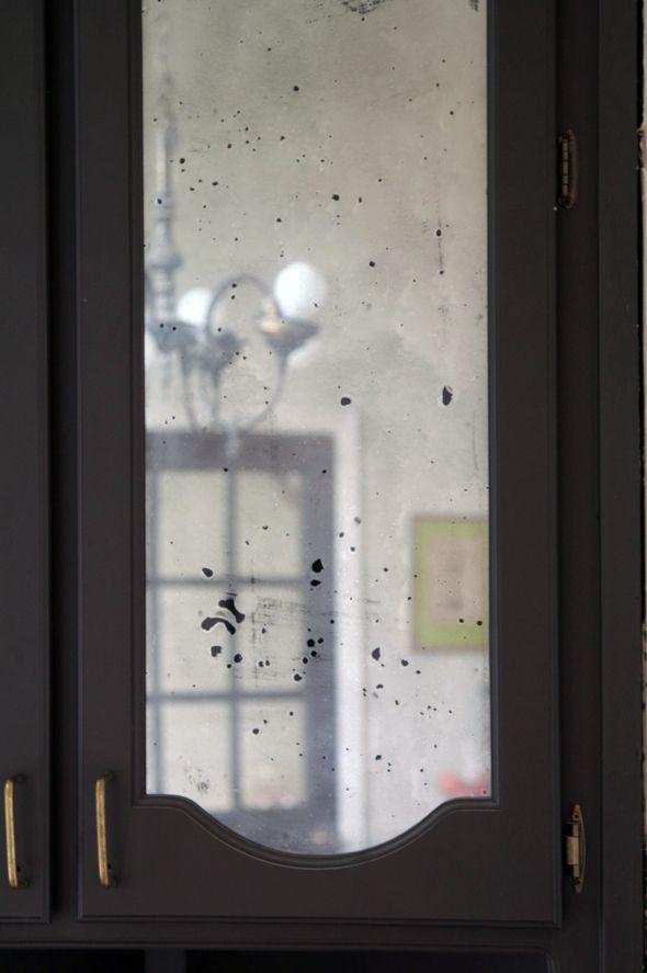 DIY: Antiqued Mirror from Little Green Notebook blog!