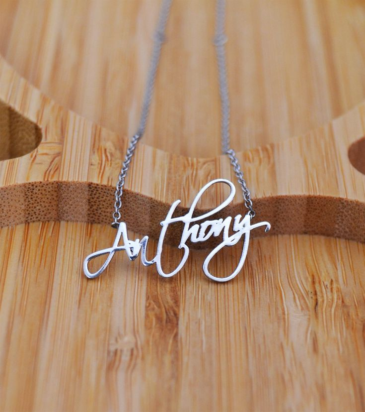 Excited to share the latest addition to my #etsy shop: Name Necklace,  Name Necklace, Custom Name Plate Necklace, Tiny Gold Name Necklace, Sterling Silver 925K, Name Jewelry #jewellery #necklace #silver #yes #girls #gold #letterswords #birthday #minimalist