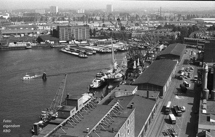 Katendrecht Rotterdam (jaartal: 1980 tot 1990) - Foto's SERC