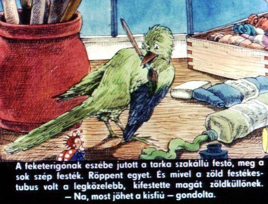 Anna Floria: Lázár Ervin: A nagyravágyó feketerigó
