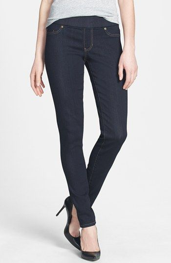 AMAZING!!! Liverpool Jeans Company 'Sienna' Pull-On Stretch Denim Leggings (Indigo) available at #Nordstrom