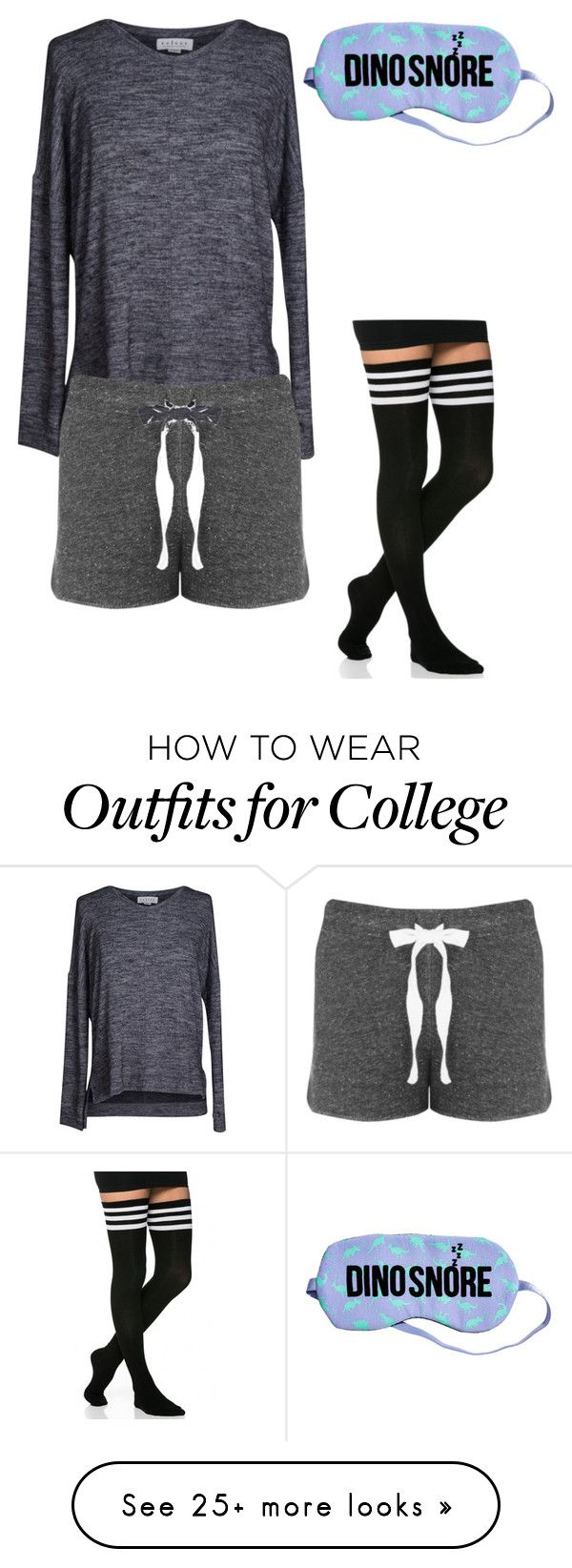"""""""I Need More Sleep."""" by cookie-doe-33 on Polyvore featuring Velvet by Graham & Spencer"""