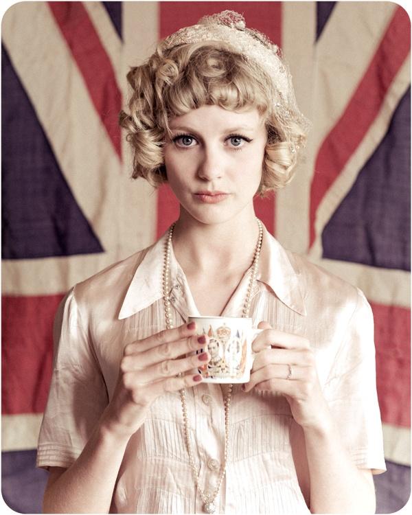 British tea party #fashion #vintage