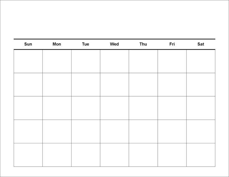 The 25+ best Meal planning calendar ideas on Pinterest Calendar - free weekly calendar