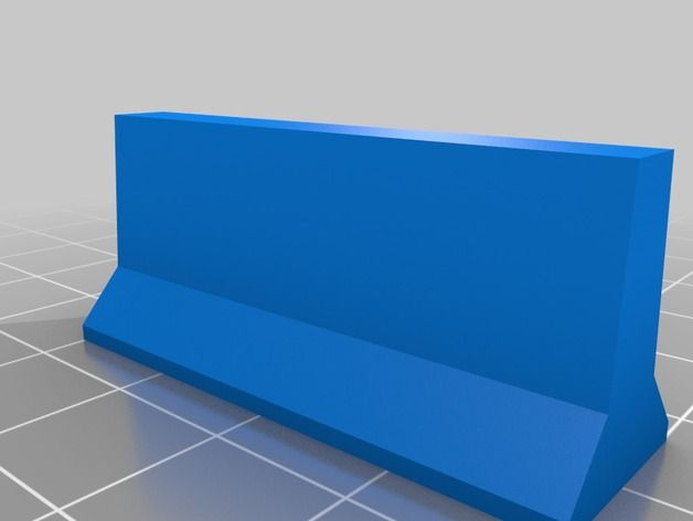 Jersey Barriers by Tothe - Thingiverse