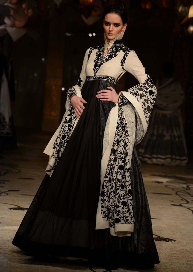 Models showcasing Rohit Bal's fabulous bridal and groom collection at Indian Bridal Fashion Week 2013 at Mumbai 03
