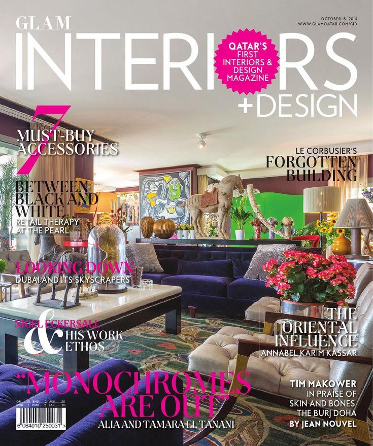 Glam Interiors September 2015 Qatar Cover
