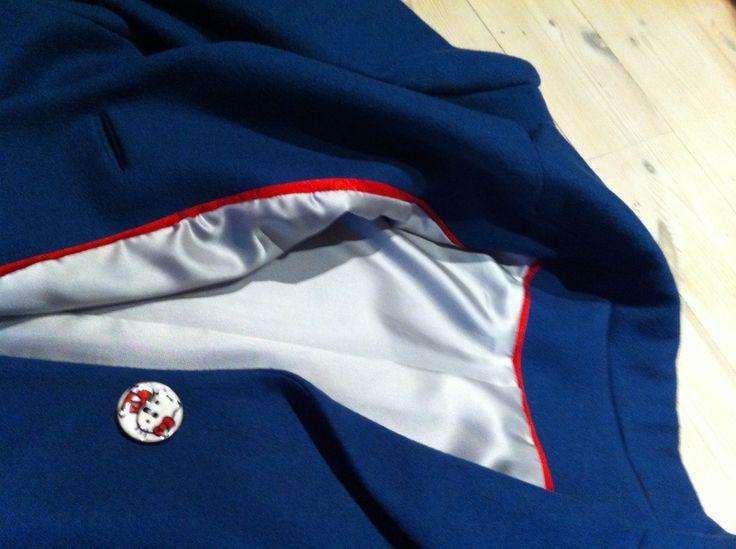 "Woolen jacket ""Hello Kitty"" by nina dirix"