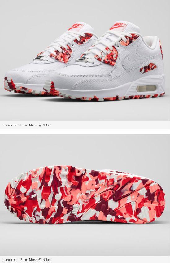 Nike dévoile des Air Max 90 inspirées de vos desserts préférés #nike #airmax #blanche #white #camouflage