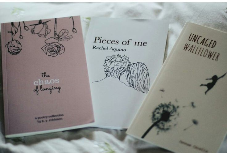 These poetry books demonstrate how Lonnie expressed himself through poetry.