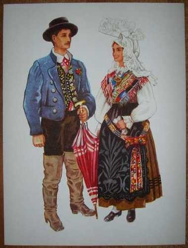 Slovenia Folk Costume Gorenjska