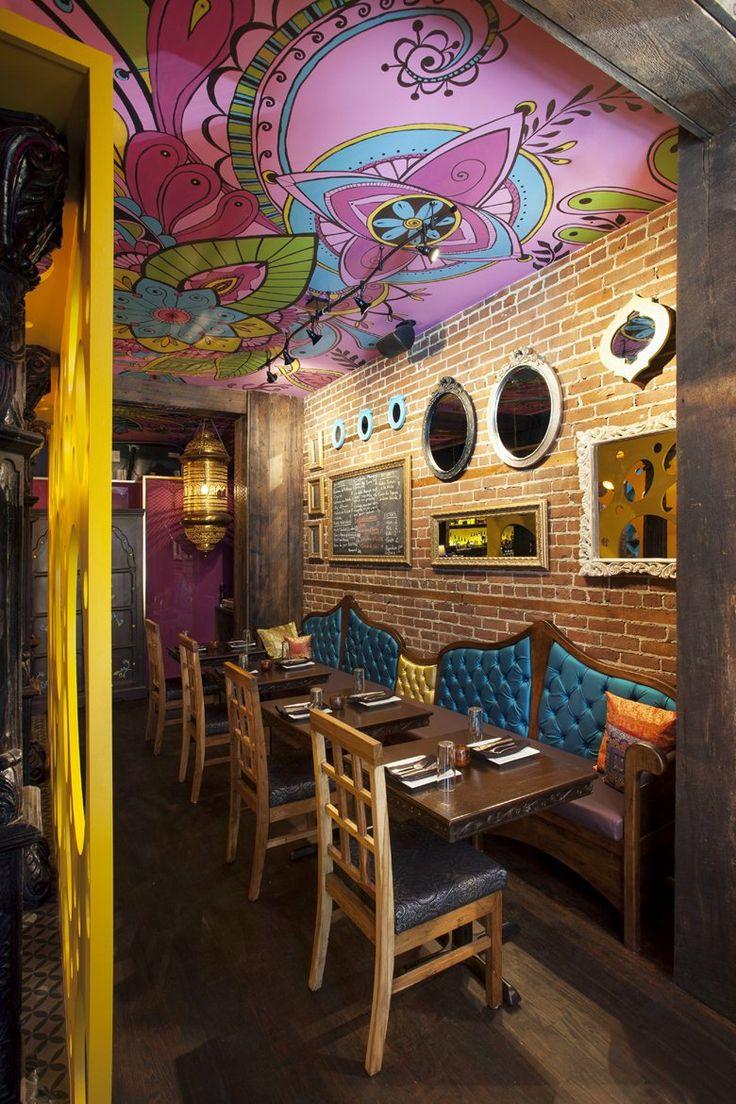 Indian Restaurant Rasoï, Montreal, 2013   Jean De Lessard, Designers  Créatifs