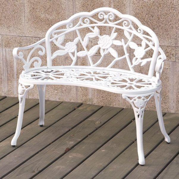 25 best ideas about metal garden benches on pinterest
