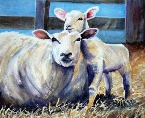 Ewe and Me by Graham Ibson http://artdiscoveredonline.co.uk/artist-page/?artist=Graham_Ibson