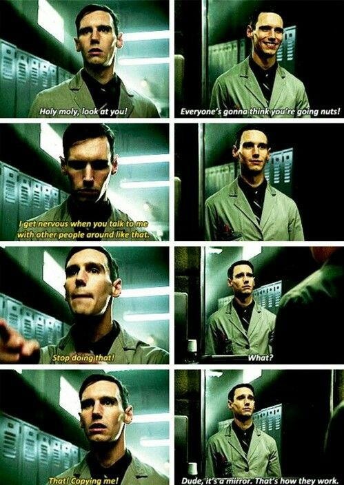 """""""Everyone's gonna think you're going nuts!"""" - Edward Nygma #Gotham"""