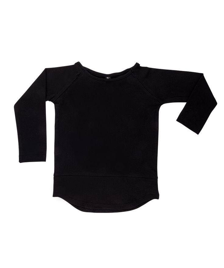 BASIC Longsleeve Solid Black