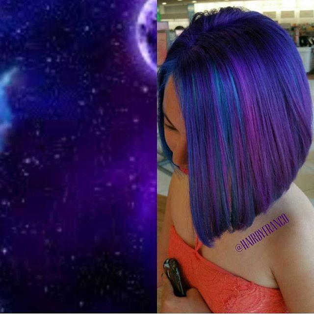 best 25 galaxy hair color ideas on pinterest galaxy