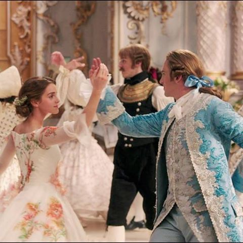 Belle and Prince Adam from the Live-Action Beauty and The Beast