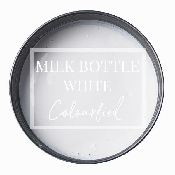 Colourfied's new colour - Milk Bottle