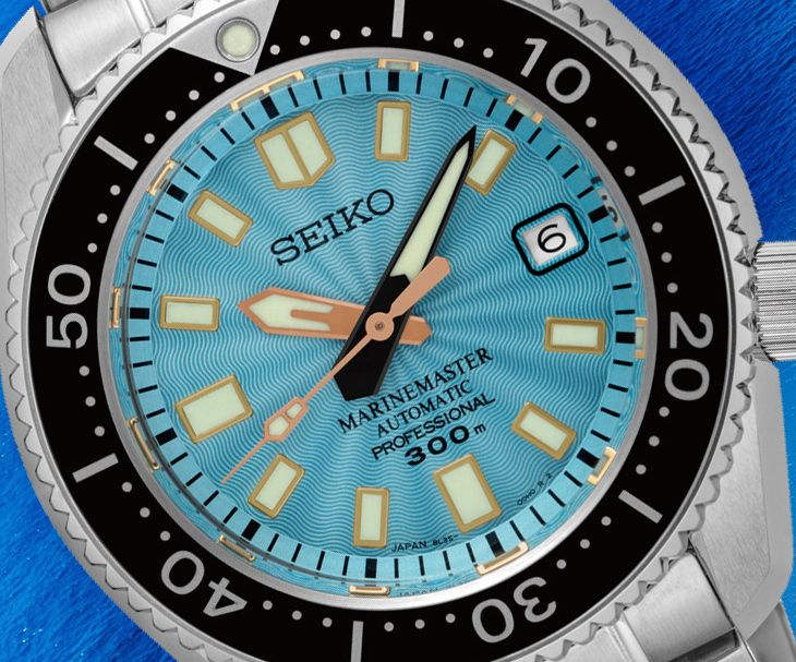 "Seiko Marinemaster 300M SLA015 Limited Edition Watch For Europe Only - by David Bredan - Learn more about this limited edition at: aBlogtoWatch.com ""Well, we say 'Europe only,' but all 200 pieces actually are exclusive to Seiko retailers in Germany: enter the new Seiko Marinemaster 300M SLA015 Limited Edition, Seiko's latest addition to its famed Marinemaster line, now with an interesting new dial. If you like Japanese watches and have ever been to Japan..."" Via: watchesbysjx.com"
