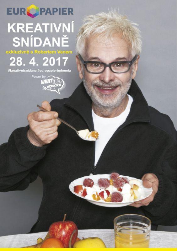 KREATIVNÍ SNÍDANĚ exkluzivně s Robertem Vanem – EUROPAPIER – BOHEMIA   https://detepe.sk/kreativni-snidane-exkluzivne-robertem-vanem-europapier-bohemia