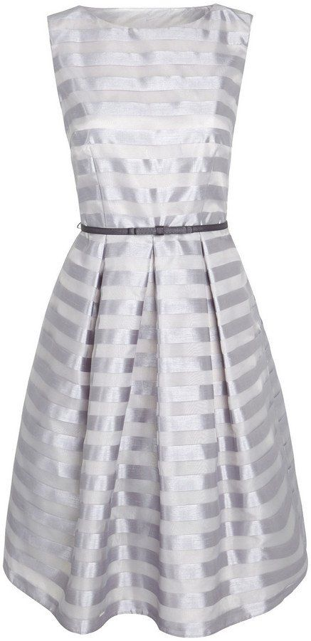 Pin for Later: 30 Gorgeous Wedding Guest Dresses For Under £60  F&F Signature organza stripe prom dress (£45)