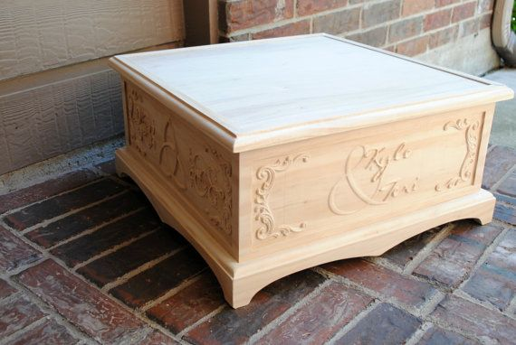 Build wooden box stand