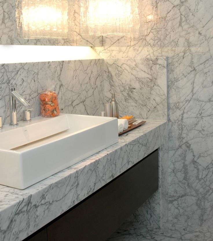 badkamers marmer ~ creatieve ideeën voor home design, Badkamer