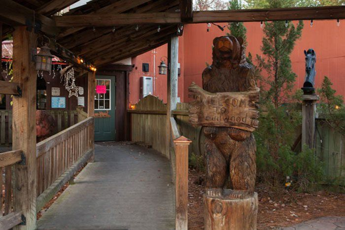 Located in the wilds of North Carolina is an Old Wild West theme park that's attached to a family-style restaurant called the Smokehouse Grill.
