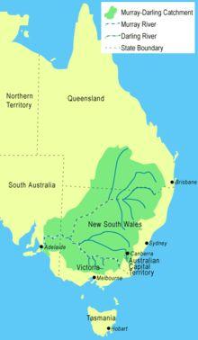 Murray–Darling basin.