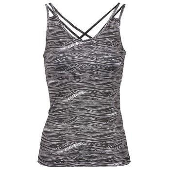 Tílka+/+Trička+bez+rukávů++Puma+ALL+EYES+ON+ME+TANK+TOP+Černá+/+Bílá+762.00+Kč