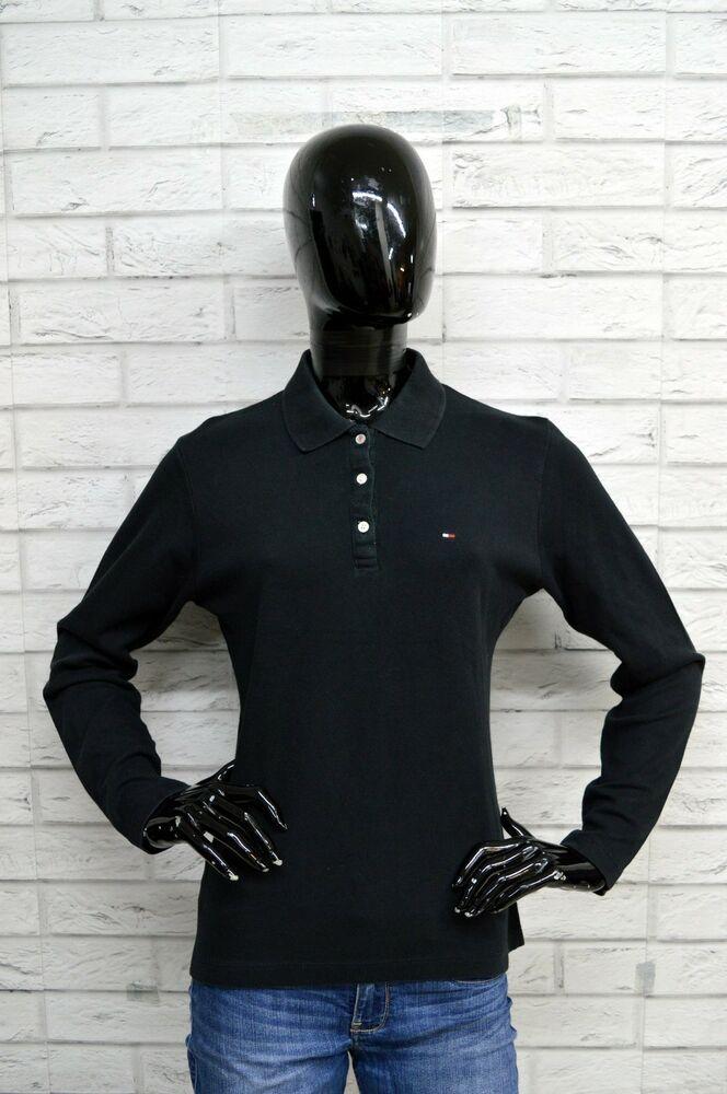 Maglia TOMMY HILFIGER Uomo Taglia XL Maglietta Shirt Cotone