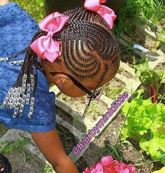 Heart Cornrows... Wish I had more angles to see