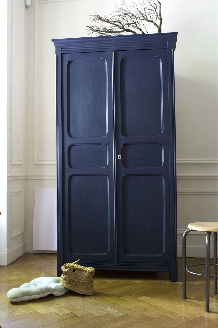 Les 25 meilleures id es de la cat gorie armoire chambre enfant sur pinterest armoire chambre - Armoire enfant fille bleu ...