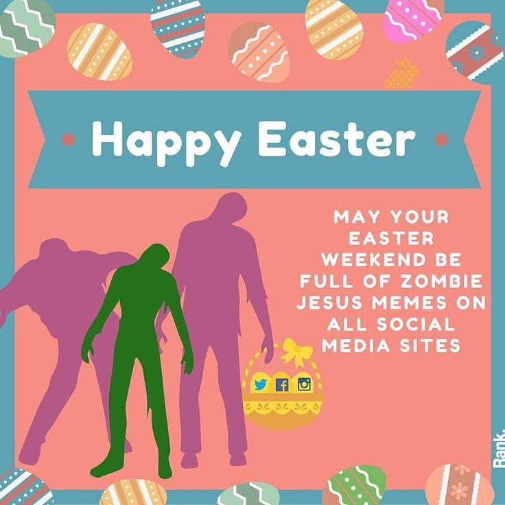 It's that time of year again....#Easter #zombiejesus #zombie