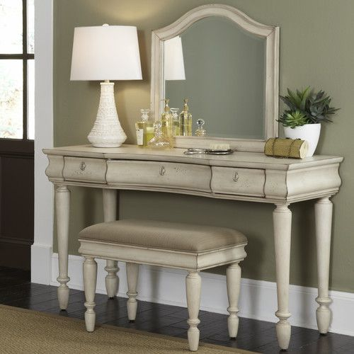 vanity sets for bedrooms. Rustic Traditions Bedroom Vanity Set  White Elegantly turned legs and felt lined drawers make the 15 best vanity images on Pinterest vanities set