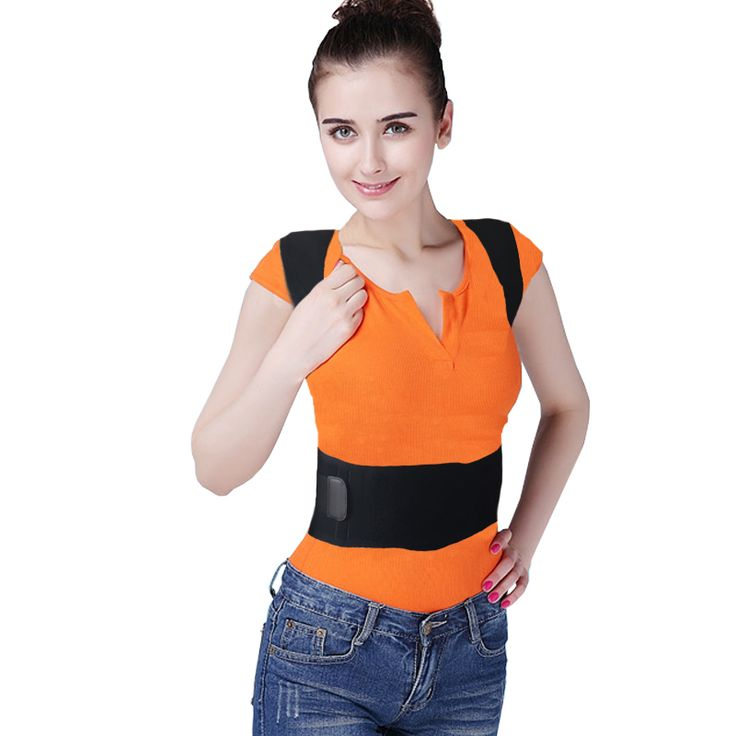 Fantastic Magnetic Therapy Posture Support Corrector Adjustable Belt Back Pain Lumbar Belt Brace Shoulder Support Free Shipping