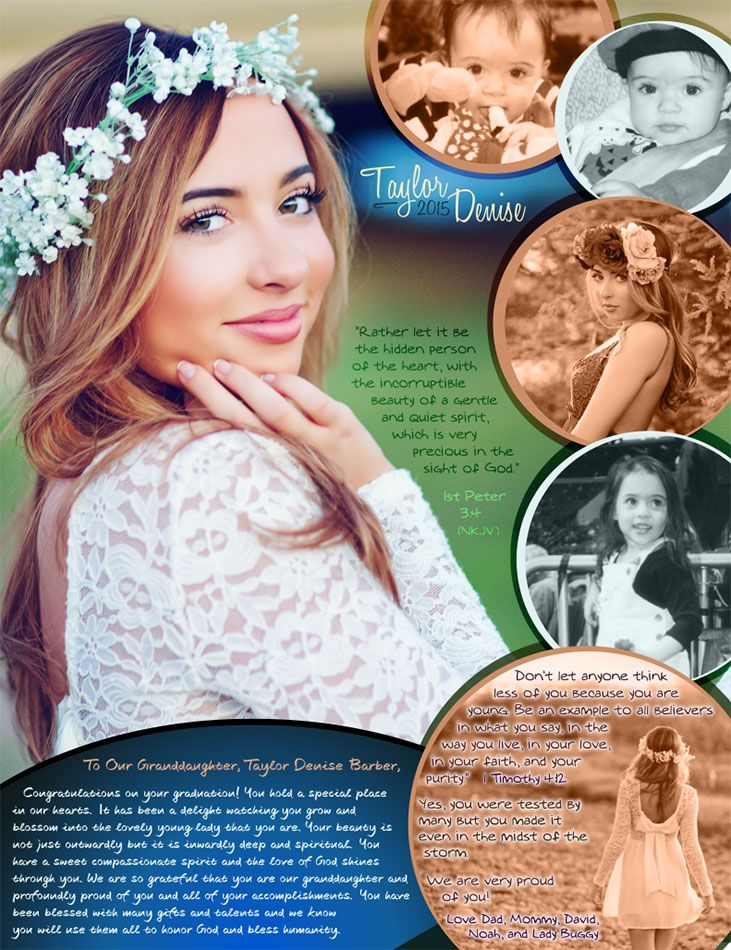 Custom Senior Yearbook ads & Graduation Invitations - Que Sera (kseraads.com)
