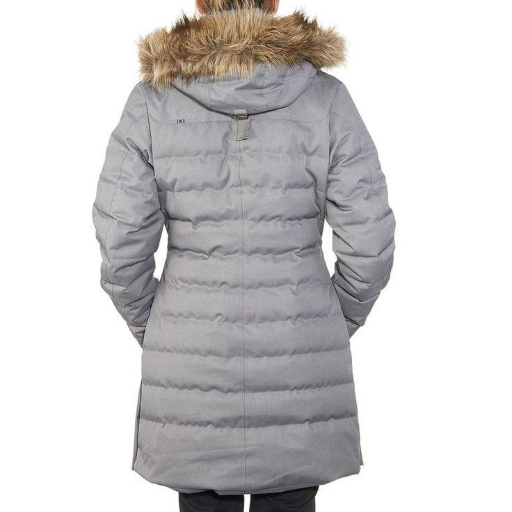 Jackets - Arpenaz 800 Rain Women's Down Jacket - Grey QUECHUA