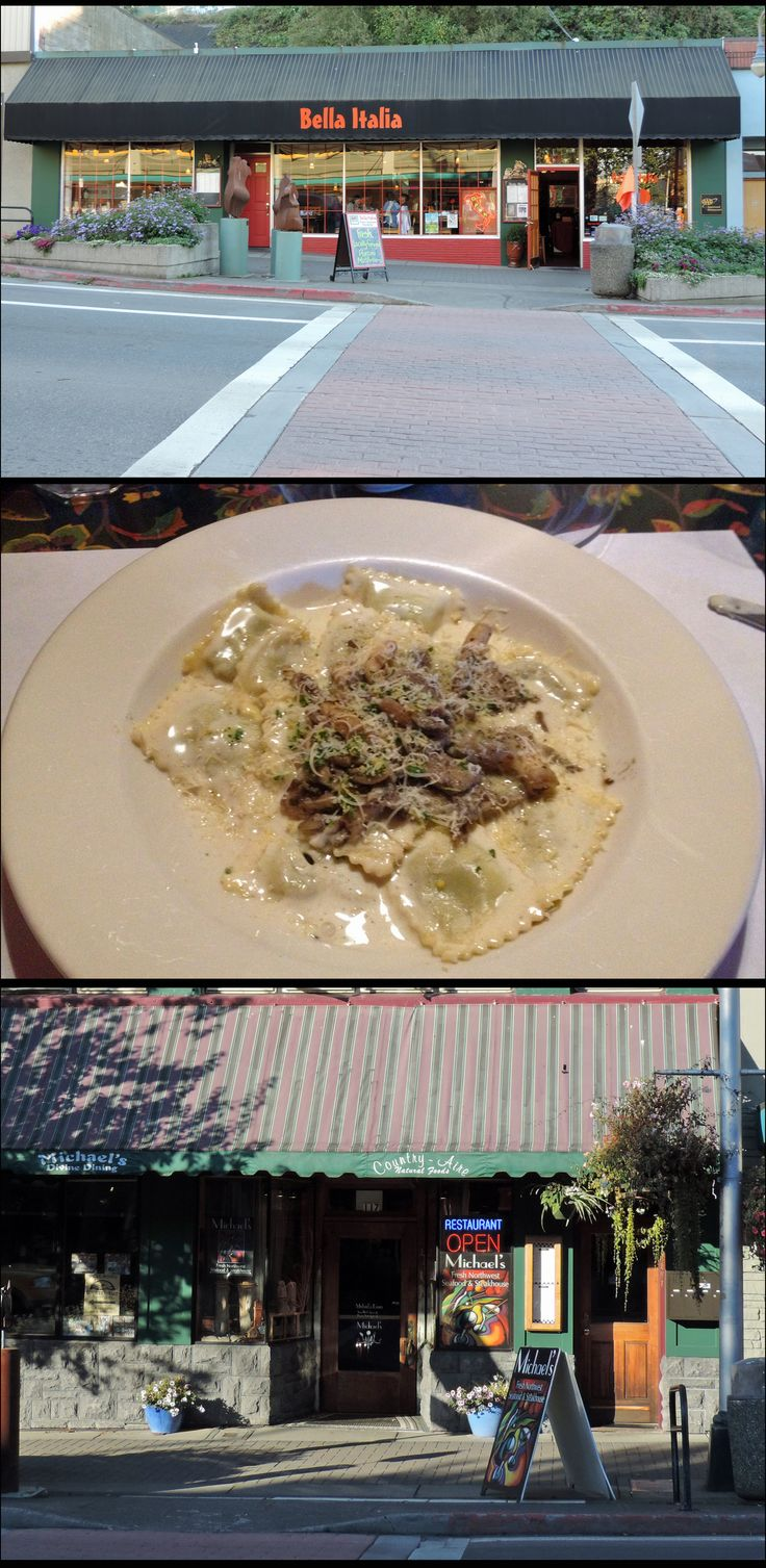 "B & E's first date restaurant, ""La Bella Italia,"" was named after Port Angeles' BELLA ITALIA restaurant. In 2005, SM phoned Bella Italia, asked about their menu, & selected mushroom ravioli as Bella's entrée. Before Twilight's popularity, Bella Italia offered mushroom ravioli only in the fall. Today, ""Bella's Mushroom Ravioli"" is available year-round. For a FULL Port Angeles Twilight Saga experience, however, dine at Michael's Seafood & Steakhouse--directly across the street from Bella…"