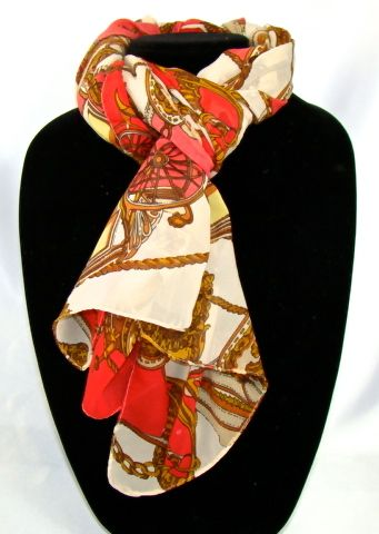 Comfortable Women's floral prints soft shawl, 163cmx53cm long scarf, Material: 100% Chiffon Silk scarf. #C121