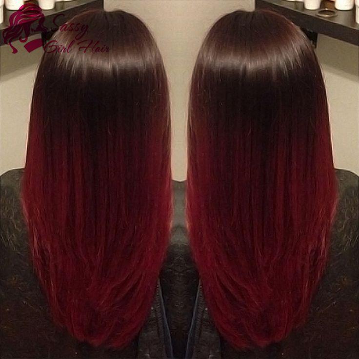 Картинки по запросу черно красные волосы