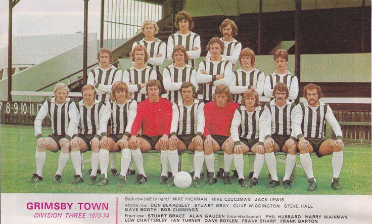 GRIMSBY TOWN FOOTBALL TEAM PHOTO>1973-74 SEASON | eBay