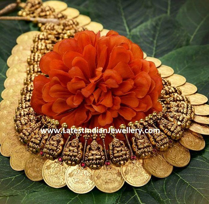 Gold Lakshmi Kasu malla