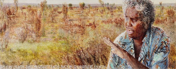 Jenny Sages: Gloria Tamere Petyarre :: Archibald Prize 2005 :: Art Gallery NSW