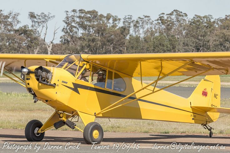 Piper Cub 24-2163 at #Temora 19/09/16. #avgeek #aviation #photography #canon #Airshow #Spotter Aviation Museum Canon Australia