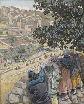 James Tissot - Les disciples mangent du blé au sabbat