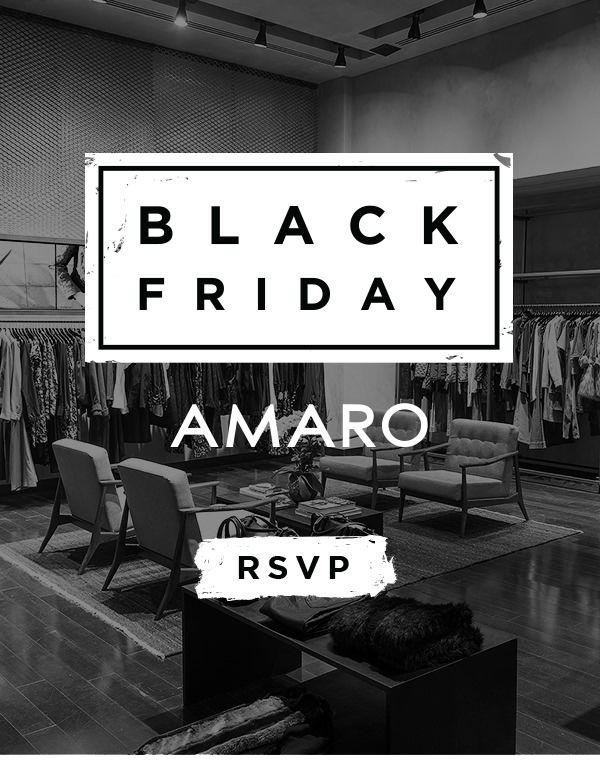 Black Friday AMARO                                                                                                                                                                                 More